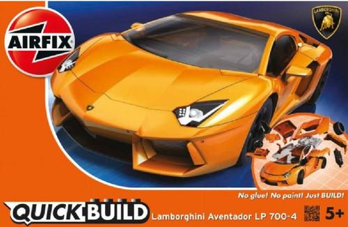 ARX-J6007  Quick Build Lamborghini Aventador LP700-4 Car (Snap)