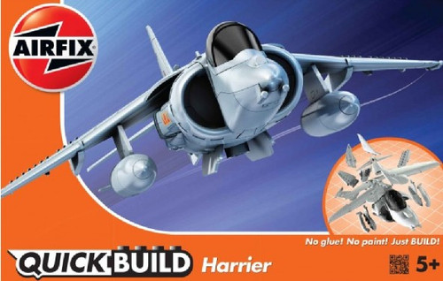 ARX-J6009  Quick Build BAe Harrier Aircraft (Snap)