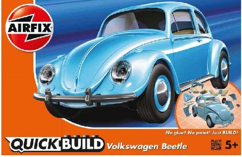 ARX-J6015  Quick Build Classic VW Beetle Car (Snap)