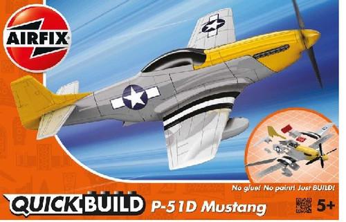 ARX-J6016  Quick Build Mustang P51D Aircraft (Snap)