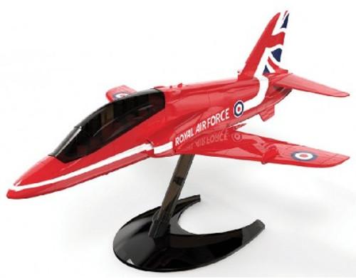 ARX-J6018  Quick Build Red Arrows Hawk RAF Aircraft (Snap)