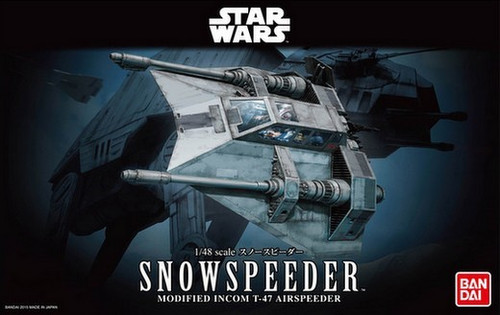BAN-196692  1/48 Star Wars The Empire Strikes Back: Snowspeeder