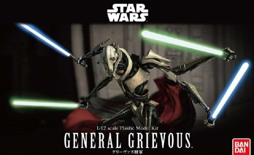 BAN-216743  1/12 Star Wars: General Grievous Supreme Commander Figure (Snap)