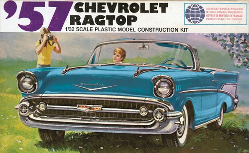 LND-105  1/32 1957 Chevrolet Ragtop