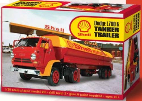LND-118  1/25 Dodge L700 Tractor w/Shell Tanker