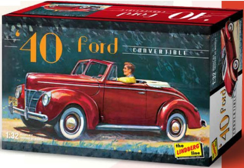 LND-119  1/32 1940 Ford Convertible Car