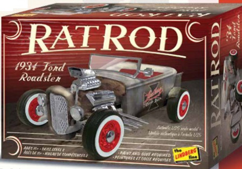 LND-122  1/25 1934 Ford Roadster Rat Rod
