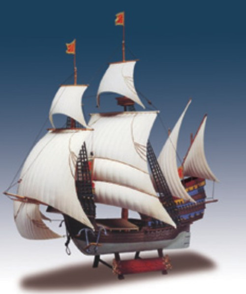 LND-202  1/244 Santa Catarina Portuguese Man-O-War Sailing Ship