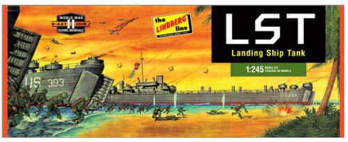LND-213  1/245 WWII Landing Ship Tank (LST)