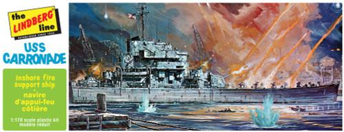 LND-403  1/168 USS Carronade Inshore Fire Support Ship