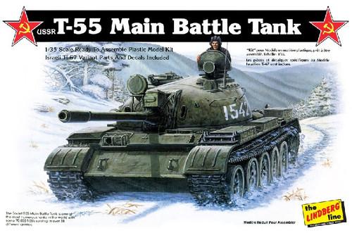 LND-415  1/35 USSR T55 Tank