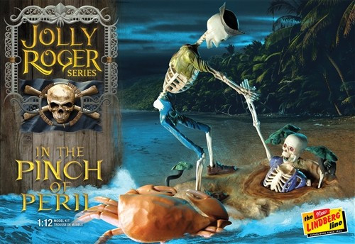 LND-612  Jolly Roger in the Pinch of Peril Diorama: Skeletons & Quicksand