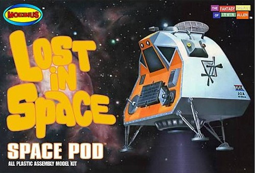 MOE-1007  1/35 Lost in Space: Space Pod & Chariot (Plastic/Resin/PE)