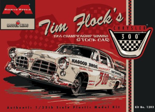 MOE-1203  1/25 Tim Flock's 1955 Chrysler 300 Winning Stock Car (Ltd Prod)