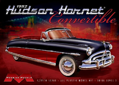 MOE-1204  1/25 1952 Hudson Hornet Convertible
