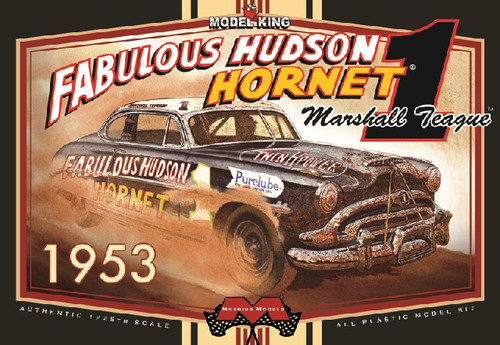 MOE-1206  1/25 Marshall Teague's 1953 Fabulous Hudson Hornet Stock Car (Ltd Prod
