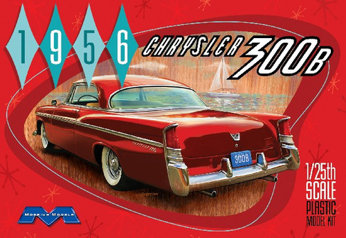 MOE-1207  1/25 1956 Chrysler 300B Car