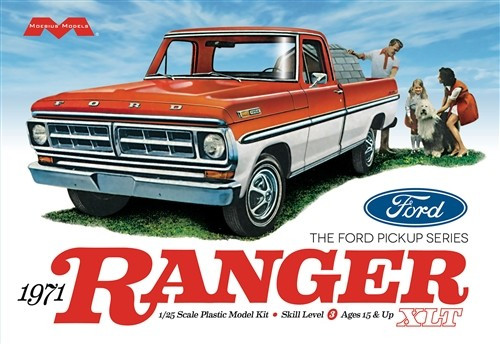 MOE-1208  1/25 1971 Ford Ranger Pickup Truck