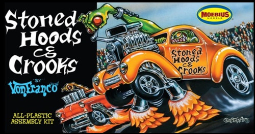 MOE-1209  1/25 Von Franco's Stoned Hoods & Crooks Custom Car
