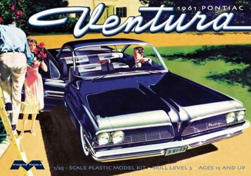 MOE-1211  1/25 1961 Pontiac Ventura Car