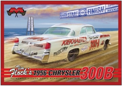 MOE-1212  1/25 Tim Flock's 1956 Chrysler 300B Stock Car