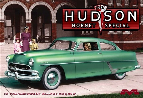 MOE-1214  1/25 1954 Hudson Hornet Special Car