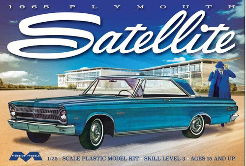 MOE-1215  1/25 1965 Plymouth Satellite Car
