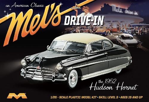 MOE-1216  1/25 1952 Hudson Hornet Car Mel's Drive-In