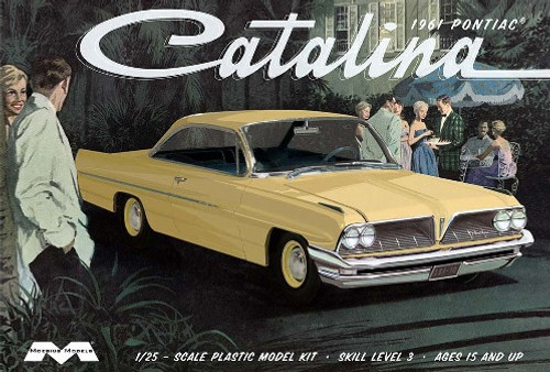 MOE-1217  1/25 1961 Pontiac Catalina Car