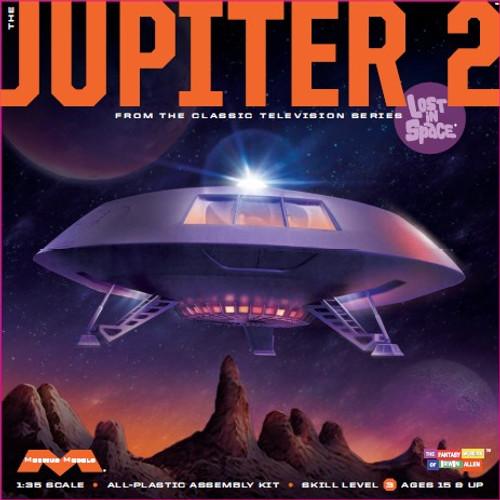 MOE-913  1/35 Lost in Space: Jupiter 2 Spaceship