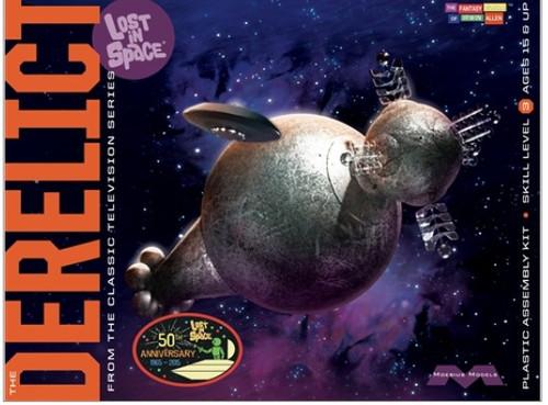 MOE-965  1/350 Lost in Space: Derelict Alien Spaceship
