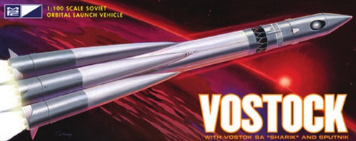 MPC-792  1/100 Vostok Soviet Orbital Launch Spacecraft (D)