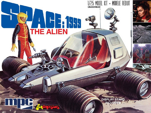 MPC-795  1/25 Space 1999: The Alien (Moon Rover)
