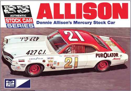 MPC-796  1/25 Donnie Allison's Mercury Stock Car (D)