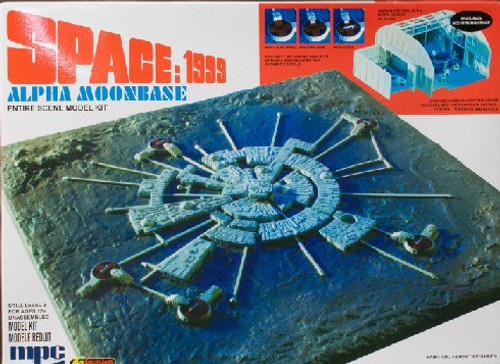 MPC-803  1/3200 Space 1999: Alpha Moon Base