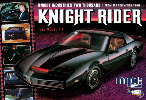 MPC-806  1/25 Knight Rider 2000 KITT Car from TV Show