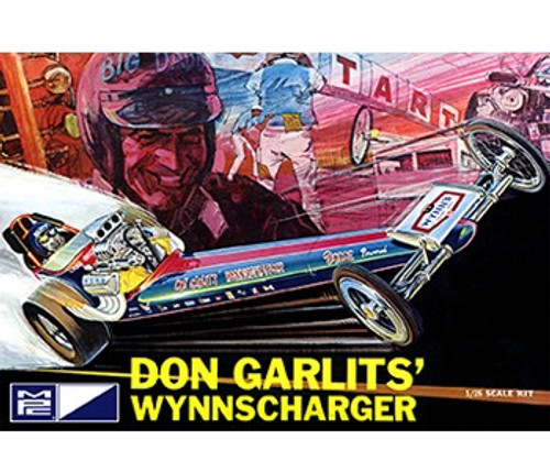 MPC-810  1/25 Don Garlits Wynns Charger Front Engine Dragster