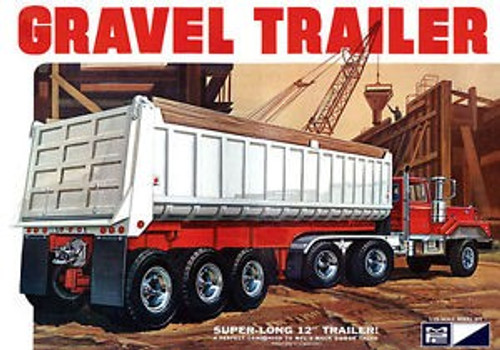 MPC-823  1/25 3-Axle Gravel Trailer