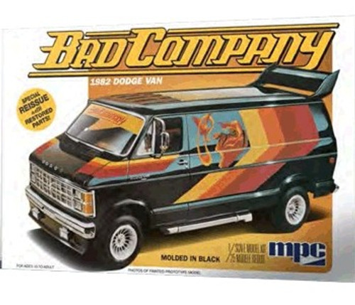 MPC-824  1/25 1982 Dodge Bad Company Van