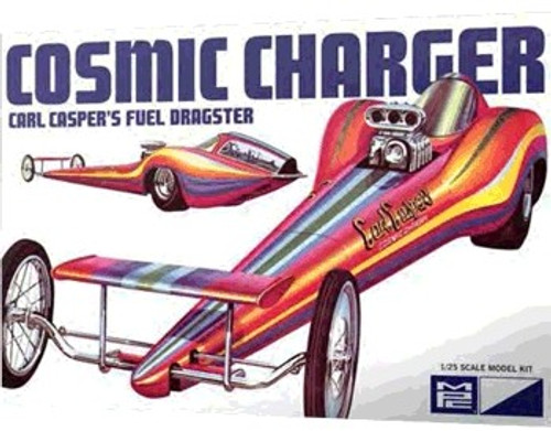 MPC-826  1/25 Carl Casper's Cosmic Charger Fuel Dragster (D)