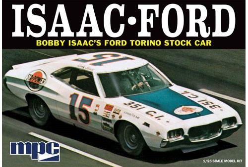 MPC-839  1/25 1972 Ford Torino Bobby Isaac #15 Sta-Power Stock Car