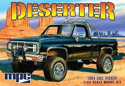 MPC-848  1/25 1984 GMC Deserter Pickup Truck (Black)