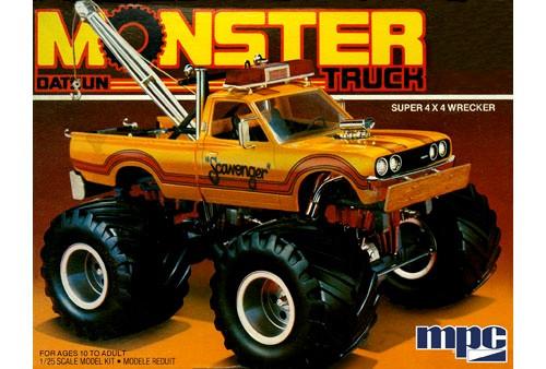 MPC-852  1/25 1975 Datsun Scavenger Monster Wrecker Truck