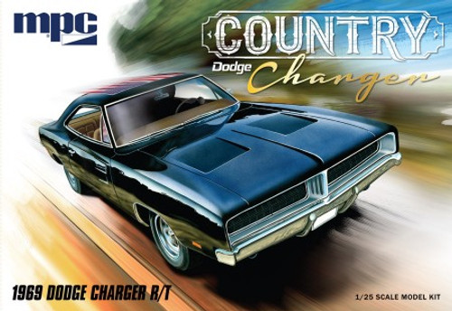 MPC-878  1/25 1969 Dodge Country Charger R/T Car