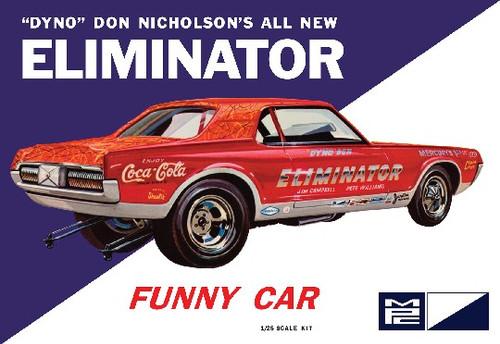 MPC-889  1/25 Dyno Don Cougar Eliminator Funny Car