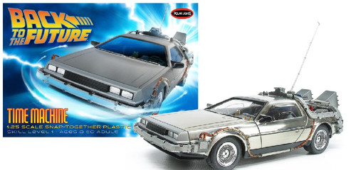 PLL-911  1/25 DeLorean Car Back to the Future I (Snap)