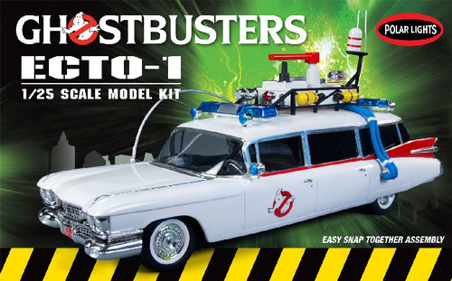 PLL-914  1/25 Ghostbuster Ecto-1 Vehicle (Snap)