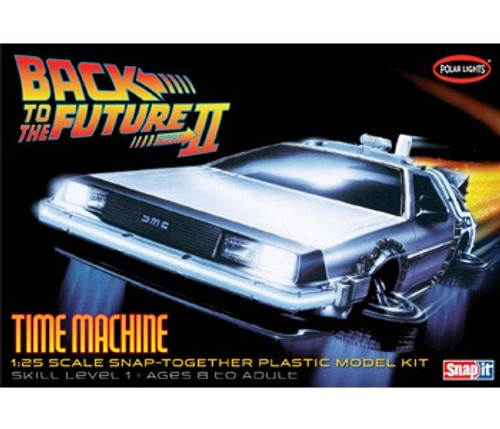 PLL-925  1/25 DeLorean Car Back to the Future II (Snap)