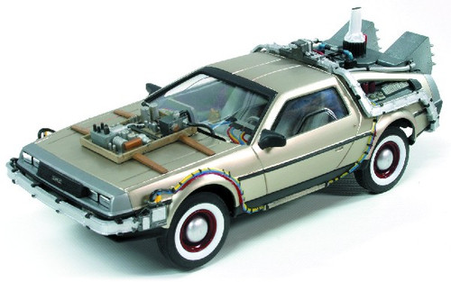 PLL-926  1/25 DeLorean Car Back to the Future III (Snap)