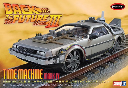 PLL-932  1/25 DeLorean Car Back to the Future III Mark IV Final Act (Snap)
